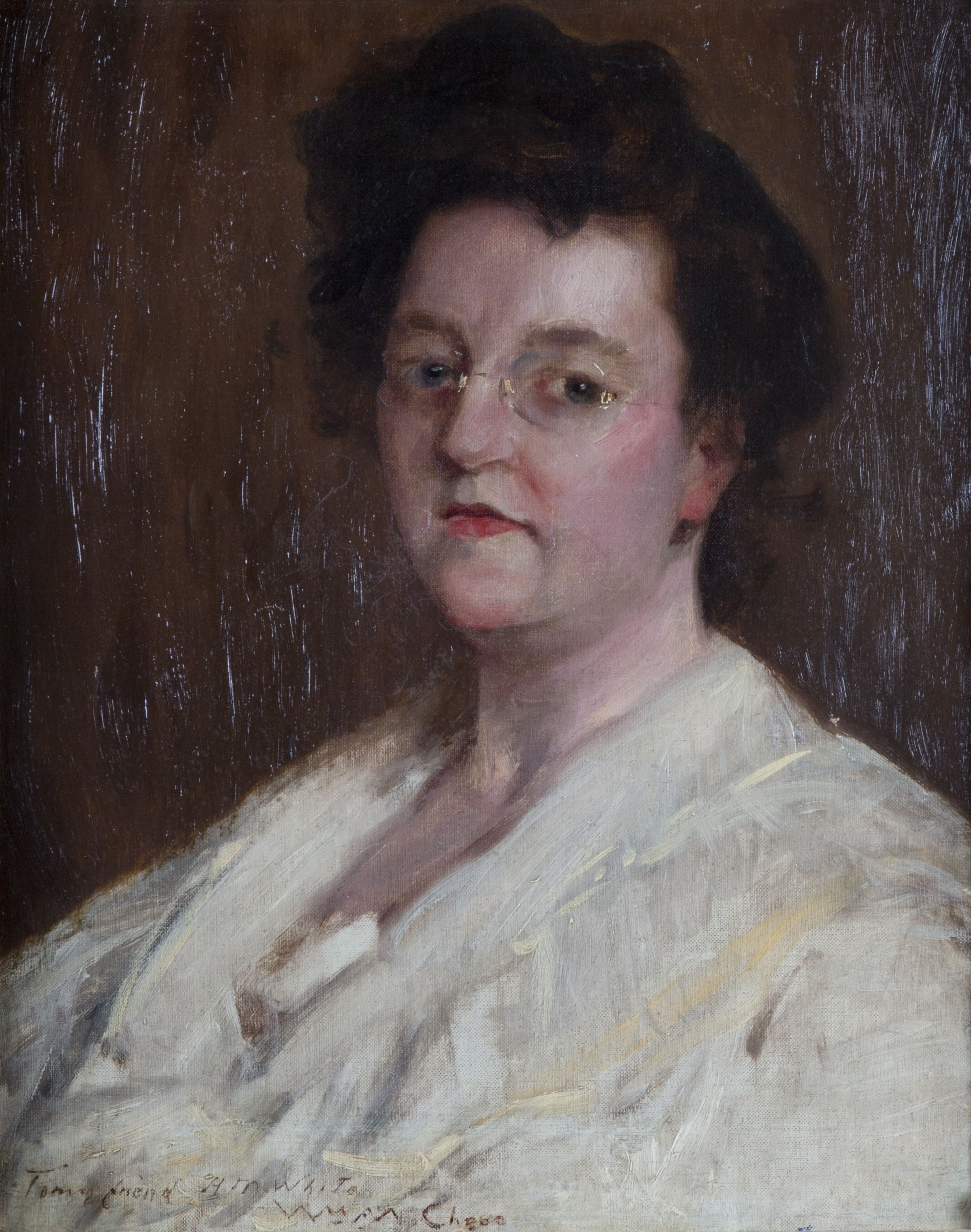 William Merritt Chase, Portrait of a Lady (Helene Maynard White)