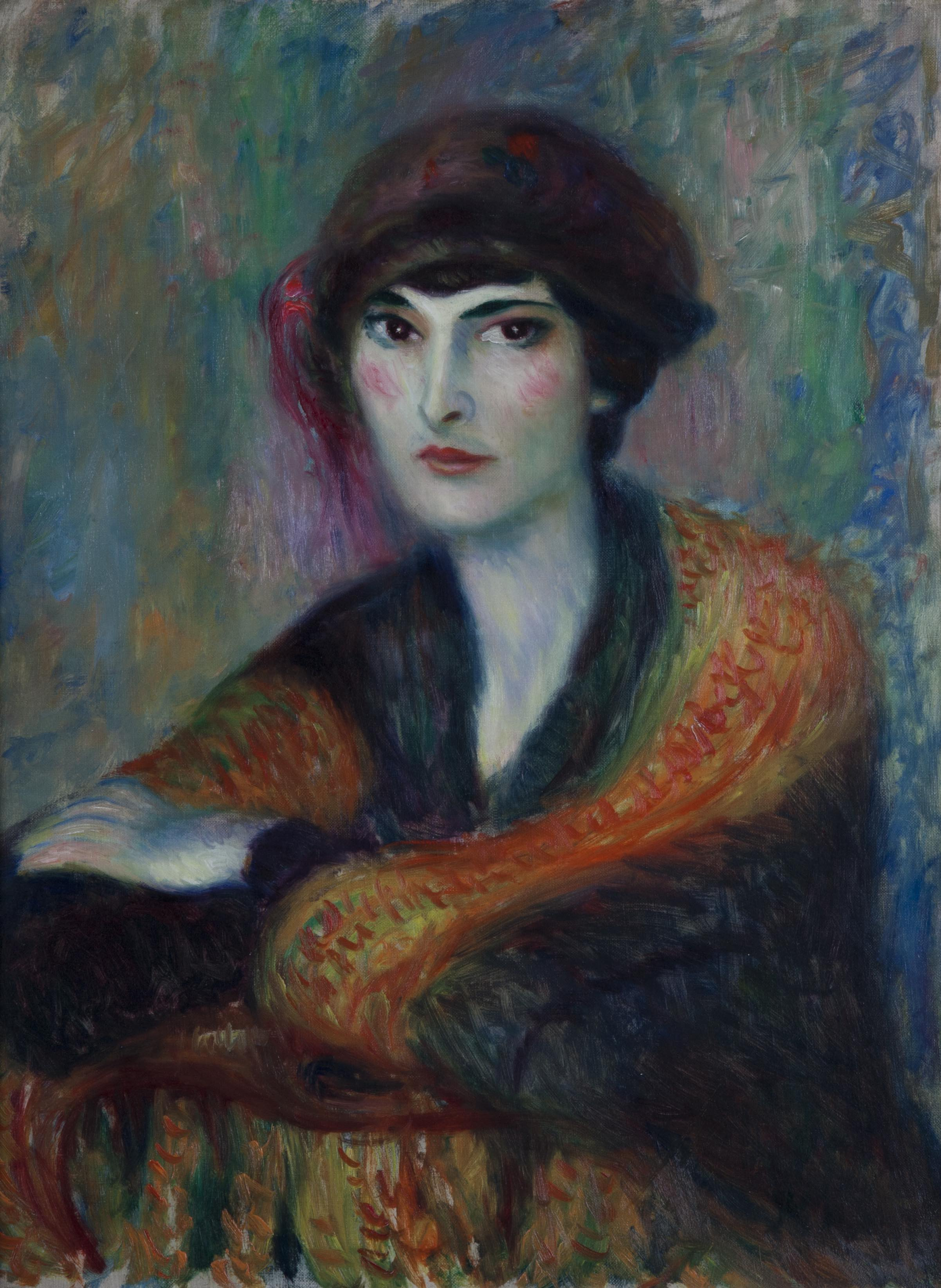 William Glackens, Russian Girl